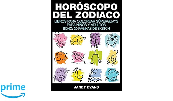 Horóscopo Del Zodiaco: Libros Para Colorear Súperguays Para Niños y ...
