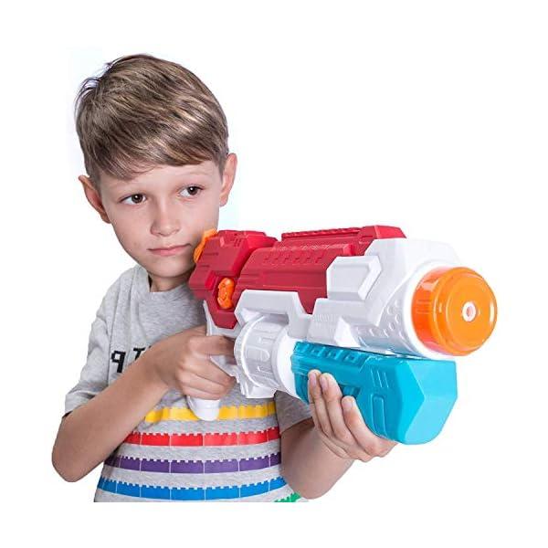 JOYIN 2 Pistole ad Acqua Potenti Bambini Adulti Super Soaker Superliquidator Fucile ad Acqua Giardino Giocattolo di… 3 spesavip