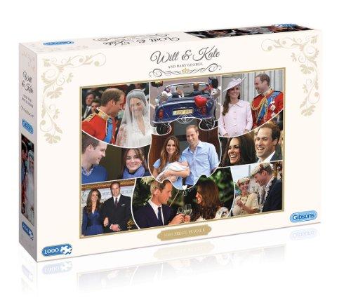 Bonne année, achat de recettes, recettes, recettes, cadeaux Prince George de Cambridge Puzzle commémorative   Magnifique  d26c33