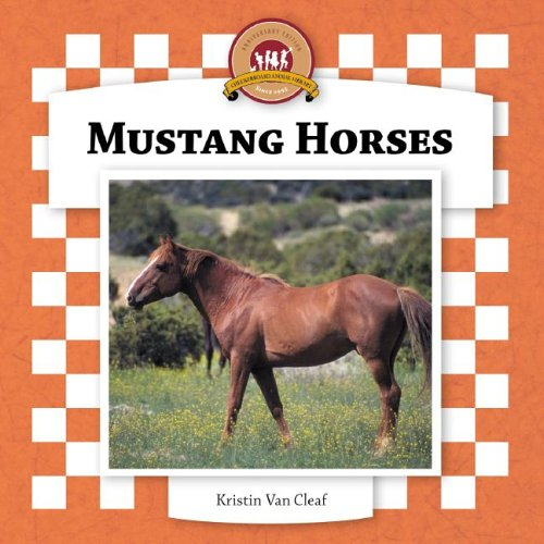 Mustang Horses (Checkerboard Animal Library) pdf