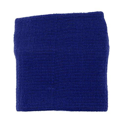 F Polsino Fityle Tergisudore Reale Per Cerniera Blu CorsaPasseggiateYogaCiclismoBadminton Nero Confortevole Con XPZiku