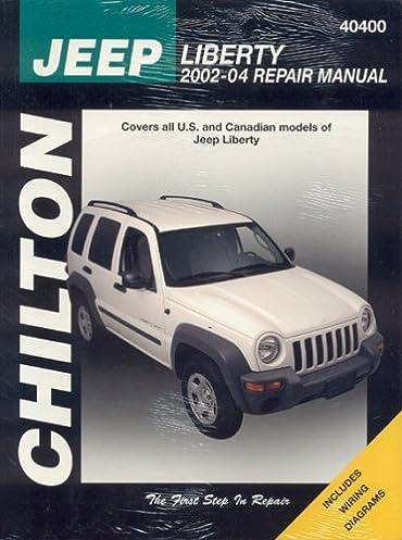 jeep liberty 2002 04 haynes repair manuals chilton rh amazon com jeep srt8 repair manual jeep patriot repair service manual