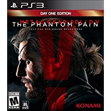 Metal Gear Solid V The Phantom Pain Sony PlayStation 3 Video Game