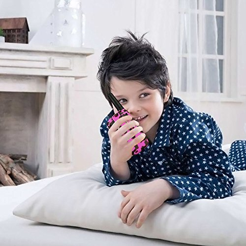 DIMY 3-12 Year Old Girl Gifts, Walkie Talkies for Kids Best Outdoor Fun Toys for 3-12 Year Old Girls Boys Toys for Kids Outdoor Toys for Kids 2018 Christmas New Gifts Pink DMDJJ09