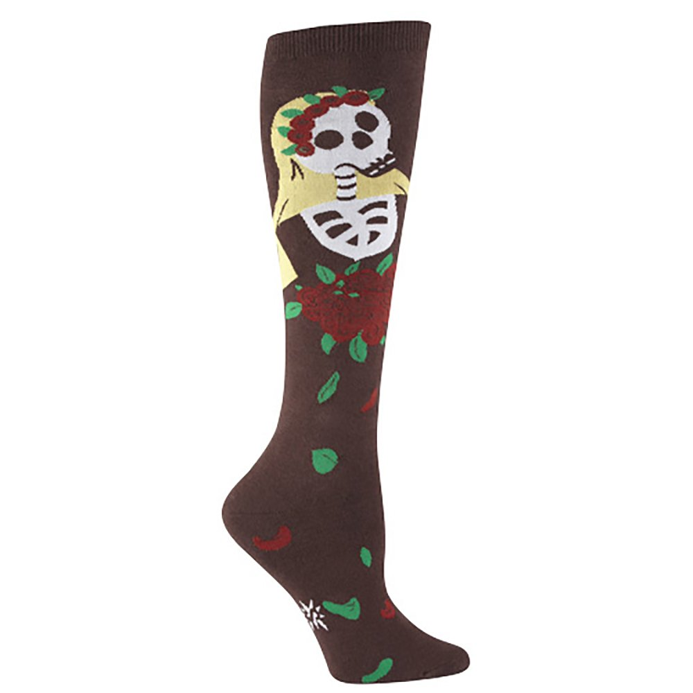 Sock It To Me DIA DE LOS MUERTOS Womens Knee Socks
