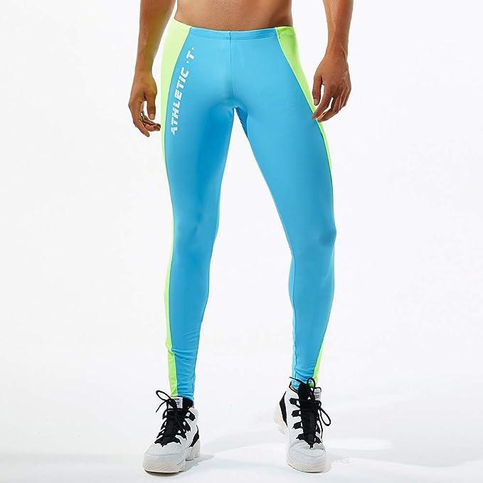Leggins Hombres Deportivos Pantalones Deportivos De Colores Para Hombres Leotardos Transpirables De Secado Rapido Leggings Termicos Running Yoga Fitness Visillos