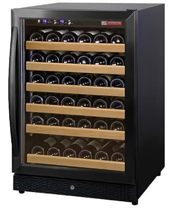 Allavino MWR-541-BR 51 Bottle Wine Cellar Refrigerator - Black Door