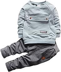 a58b38ce3 4Pcs Cotton Long-Sleeve Bodysuits Sets Dog Prints Carter s Baby Boy ...