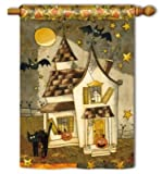 Spooky Halloween BreezeArt House Flag Review