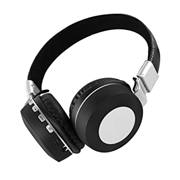 Gaming Auricular Inalámbrico, Bluetooth Overhead Auricular Ruido Perimetral Cancelación para PC/Nintendo Switch/