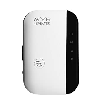 Newcare Wifi Inalámbrico Extensor de Red Amplificador Wifi Enchufe Booster Repetidor de Red Inalámbrico AP WPS