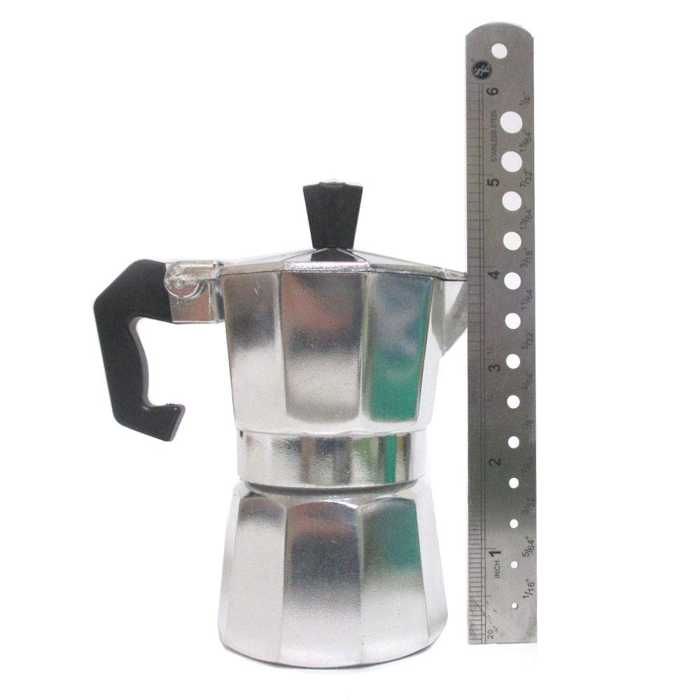 Amazon.com: Coffee Maker Cafetera Espresso Latte Coffeemaker Expresso Mini 1 Cup Brewer Pot: Combination Coffee Espresso Machines: Kitchen & Dining