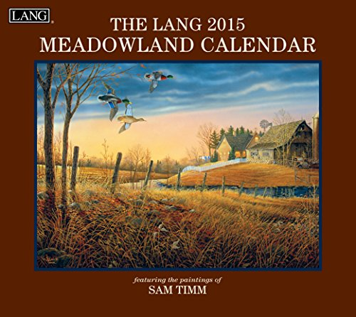 Lang January to December, 13.375 x 24 Inches, Perfect Timing Meadowland 2015 Wall Calendar by Sam Timm (1001752)