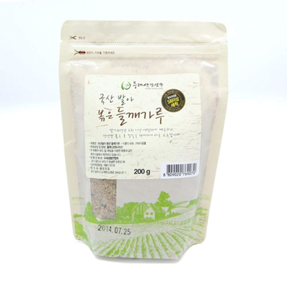 Dure Roasted Sprout Perilla Powder 120g, Product of Korea 볶은 들깨가루