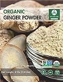 Naturevibe Botanicals Organic Ginger Powder (1/4lb), Zingiber...