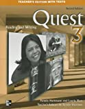 Quest Level 3 Reading and Writing Teacher's Edition, Kristin D. Sherman, 0073265837