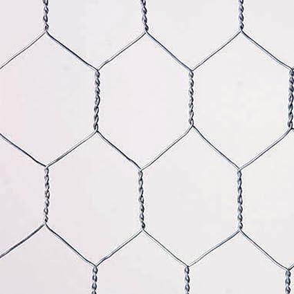 Catral 55020016 - Malla galvanizada hexagonal, 100 x 300 x 4 cm ...