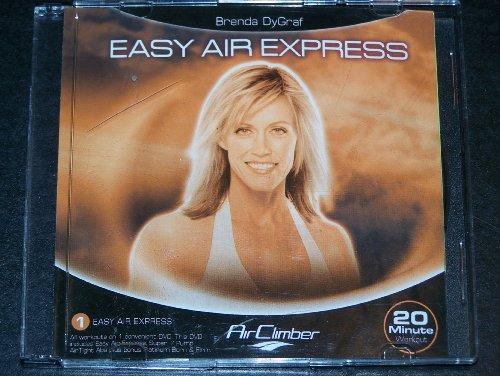 AirClimber Easy Air Express, Super 7 Pump, Airtight Abs, Platinum Burn & Firm DVD 4-20 Minute Exercise Workouts for Air Climber ((DVD only, not a (Brenda Pump)