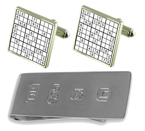 Money Bond amp; Clip James Puzzle Cufflinks Puzzle amp; James Sudoku Sudoku Cufflinks 0vzvRP