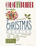 Color By Number For Adults: Christmas Doodles