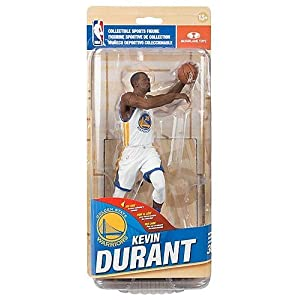 McFarlane Toys NBA Series 30 Golden State Warriors Kevin Durant (White Uniform) Action Figure Bronze Collector Level #/1500