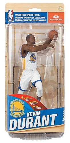 McFarlane Toys NBA Series 30 Golden State Warriors Kevin Durant (White Uniform) Action Figure - Bronze Collector Level #/1500