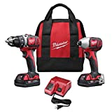 Milwaukee M18 Cordless LITHIUM-ION 2-Tool Combo Kit
