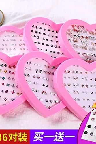 TBSOTB Earrings Earring Dangler Eardrop Women Girls Gift Woman Mini Hypoallergenic Plastic Ear Bones Box (d-009- Small Animal Models