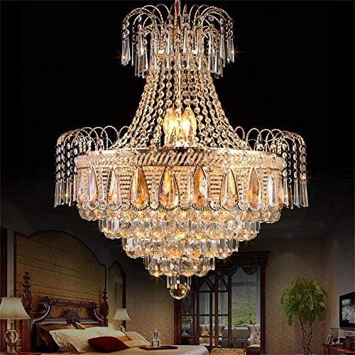 KALRI Modern K9 Crystal Chandelier Ceiling Light Fixture
