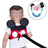 (2 kit) Anti Lost Wrist Link 2 meters Wrist Leash for Kids & Toddlers Child Safety Wristband (Blue+Red) QE00-3 Image