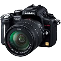 Panasonic digital single-lens camera Lumix GH2 lens kit high magnification zoom lens included Black DMC-GH2H-K [International Version, No Warranty]