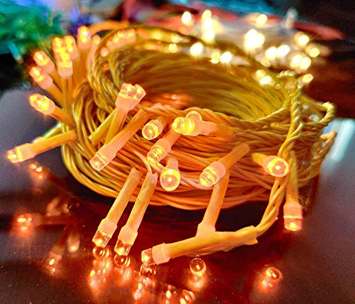 Ascension ® Warm White String Strip Decoration Lights of 13 Meter 35 Serial Bulbs Decoration Lighting for Diwali…