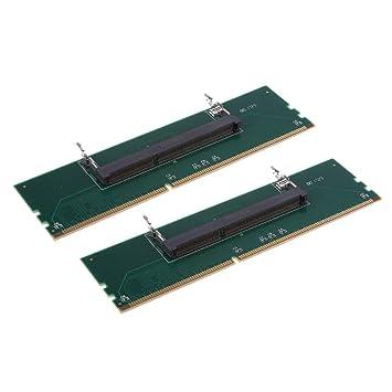 Homyl 2 Piezas Tarjeta de Adaptador RAM de Memoria para ...