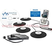 Philips DPM8900DT Complete Digital Conference Recording & Transcription Kit,