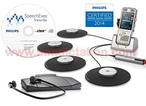 Philips DPM8900DT Conference Recording Transcription