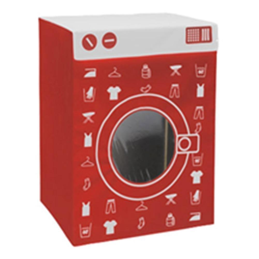 Black With White Lid Washing Machine Laundry Basket Novelty Laundry Hamper Laundry Bin With Lid