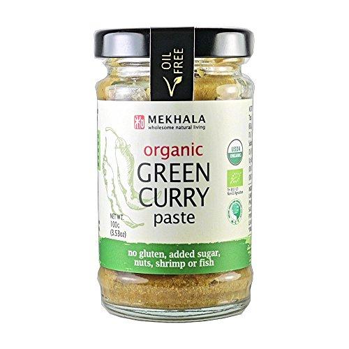 MEKHALA Organic Green Curry Paste, 3.53 OZ