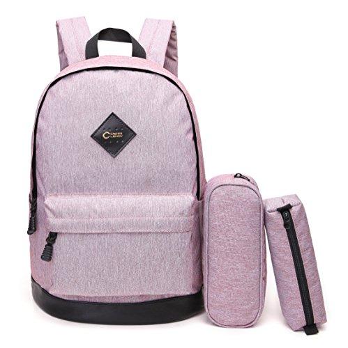 CrossLandy High School Bookbag Waterproof School Backpack Fits 15.6' Laptop,...
