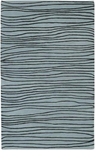 Blue Surya Artist Studio - Surya Artist Studio 8-Feet by 11-Feet Hand Tufted Rug, Blue