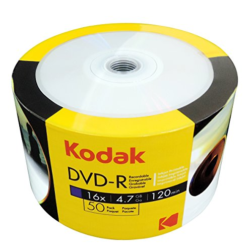 KODAK DVD-R 4.7GB Printable 50P by Kodak