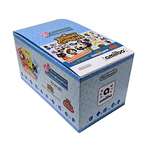 Animal Crossing Amiibo Cards Series 3 - Full box (18 Packs) (6 Cards Per Pack/108 Cards) by Nintendo (Image #1)