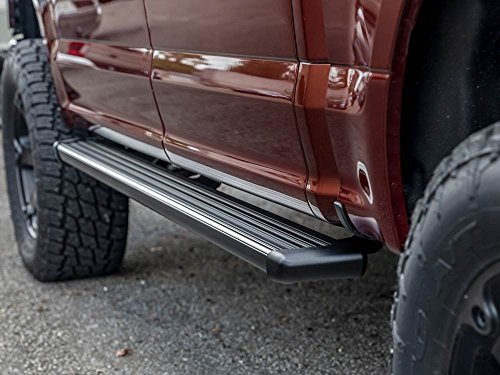 Amazon Com Ionic 61 Series Black Running Boards 2015 2018 Ford F150