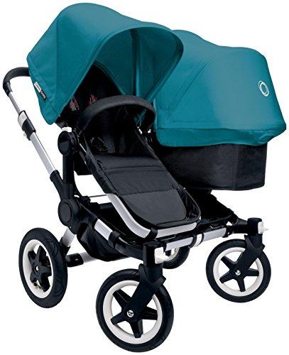Bugaboo Donkey Complete Duo Stroller - Petrol Blue - Aluminum