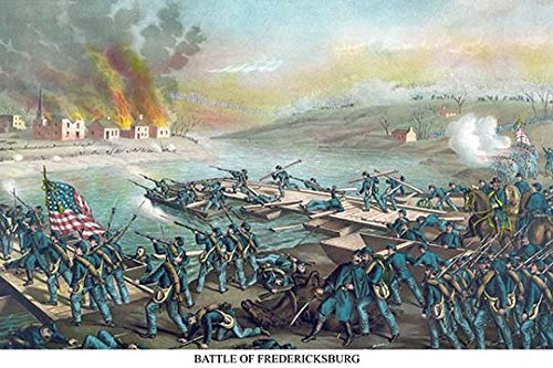 Buyenlarge 0-587-23257-9-C2030 ''Battle of Fredericksburg, Virginia'' Gallery Wrapped Canvas Print, 20'' x 30'' by Buyenlarge