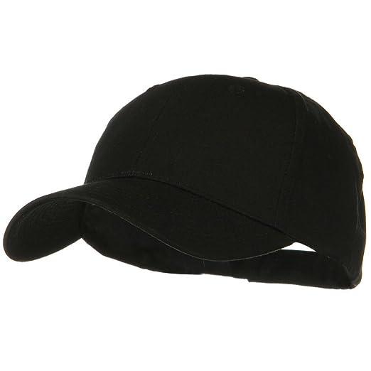 0427342b211 Otto Caps Solid Cotton Twill Low Profile Strap Cap - Black at Amazon Men s  Clothing store  Baseball Caps