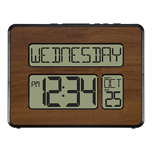 Multi Time Zone Clock (La Crosse Technology 513-1419-WA-INT Atomic Large Full Digital Calendar Clock)
