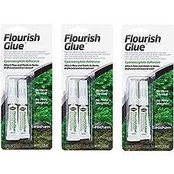 Seachem Plant Flourish Glue Tubes (3 Packages/6 Tubes Total)