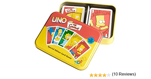 Flair The Simpsons Especial ETD uno Juego de Cartas: Amazon.es: Juguetes y juegos