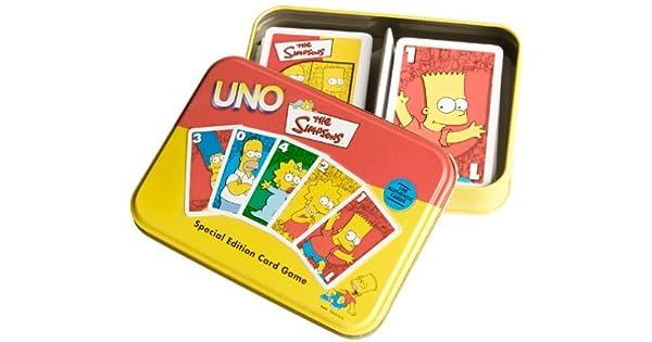 Amazon.com: Los Simpson Edition Juego de cartas UNO: Toys ...