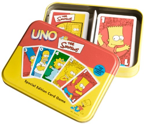 Flair The Simpsons Especial ETD uno Juego de Cartas: Amazon ...
